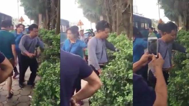Hà Nội: Bị sàm sỡ trên xe buýt, người phụ nữ đánh tả tơi kẻ biến thái - ảnh 1