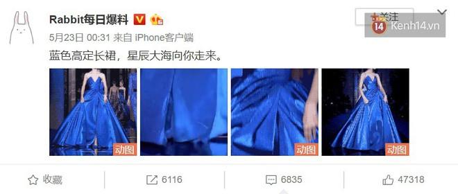 """Chiếc đầm công chúa đẹp mê mẩn khiến cả Weibo sôi sục, netizen xôn xao về danh tính minh tinh có """"diễm phúc"""" được diện - ảnh 5"""