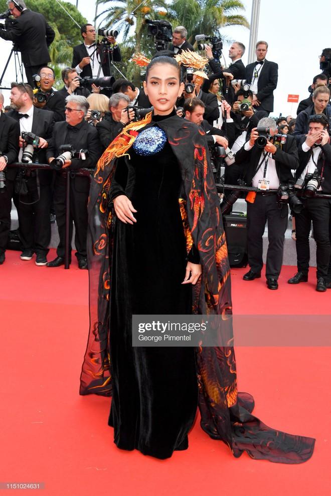 Không có Lý Nhã Kỳ thì đã có Trương Thị May mang áo dài Việt lên thảm đỏ LHP Cannes - ảnh 5