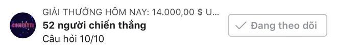 1 người nhận hơn 6 triệu đồng, số tiền thưởng kỷ lục của Confetti Vietnam đây rồi! - ảnh 2