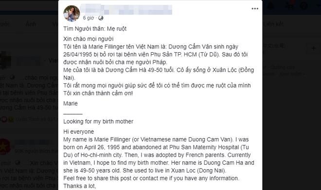 Xúc động câu chuyện cô gái gốc Việt về nước tìm mẹ ruột sau 24 năm bị bỏ rơi ở bệnh viện Từ Dũ - ảnh 2