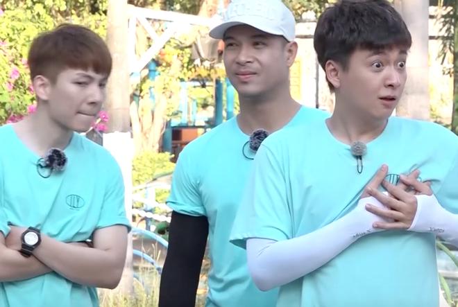Running Man - Không lên sóng: Ngô Kiến Huy bị vợ chồng Khởi My - Kelvin Khánh thi nhau ngắt nụ - ảnh 2
