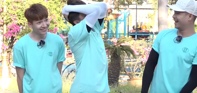 Running Man - Không lên sóng: Ngô Kiến Huy bị vợ chồng Khởi My - Kelvin Khánh thi nhau ngắt nụ - ảnh 5