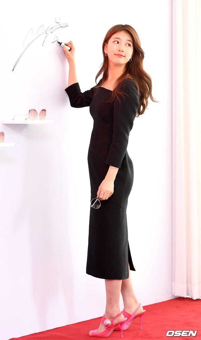 Nữ thần sắc đẹp Suzy gây náo loạn khu phố Hàn vì đẹp lồng lộn, được dàn vệ sĩ hộ tống như bà hoàng tại sự kiện - ảnh 5