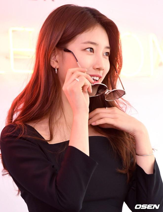Nữ thần sắc đẹp Suzy gây náo loạn khu phố Hàn vì đẹp lồng lộn, được dàn vệ sĩ hộ tống như bà hoàng tại sự kiện - ảnh 11