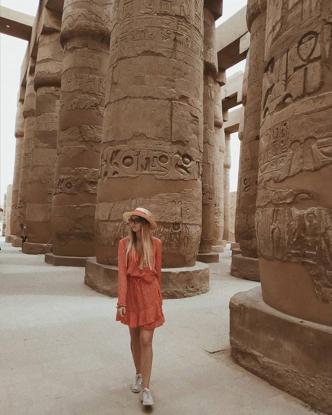 Đền Karnak: Bảo tàng ngoài trời lớn nhất thế giới, khiến giới blogger du lịch mê mẩn khi đặt chân đến Ai Cập - Ảnh 10.