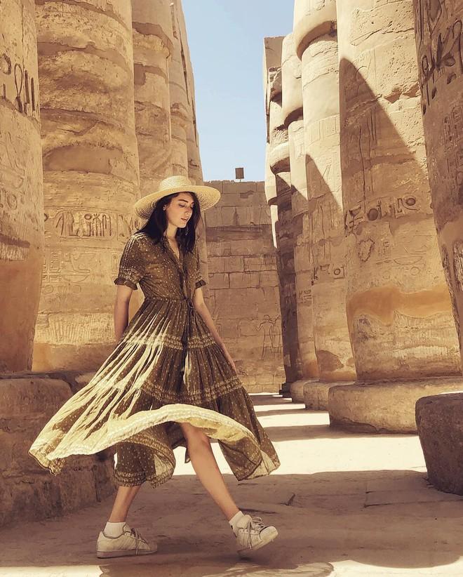 Đền Karnak: Bảo tàng ngoài trời lớn nhất thế giới, khiến giới blogger du lịch mê mẩn khi đặt chân đến Ai Cập - Ảnh 11.