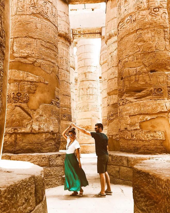 Đền Karnak: Bảo tàng ngoài trời lớn nhất thế giới, khiến giới blogger du lịch mê mẩn khi đặt chân đến Ai Cập - Ảnh 1.