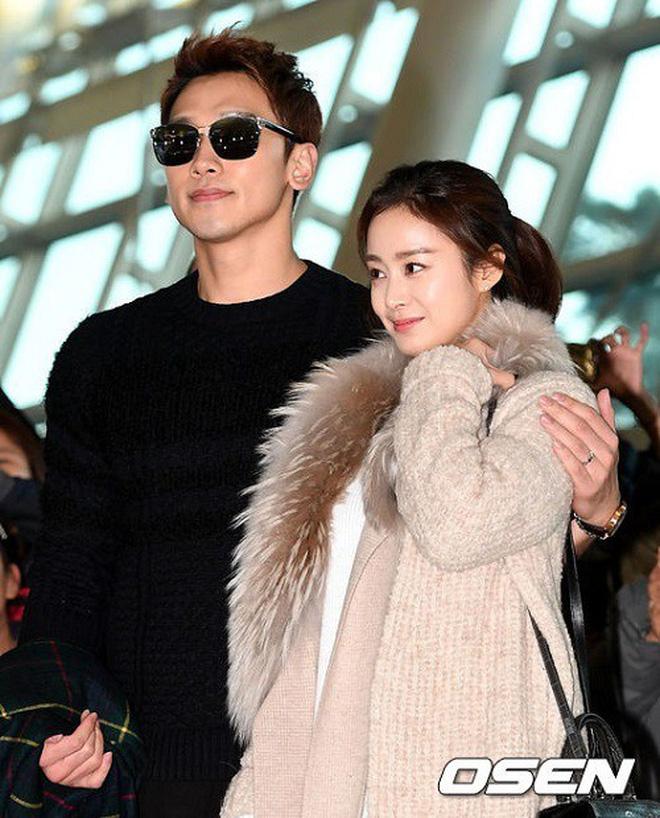 Nhìn hình ảnh gần đây nhất mới thấy, Bi Rain có một thói quen 2 năm không đổi đặc biệt dành cho bà xã Kim Tae Hee - ảnh 3