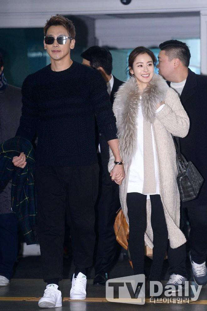 Nhìn hình ảnh gần đây nhất mới thấy, Bi Rain có một thói quen 2 năm không đổi đặc biệt dành cho bà xã Kim Tae Hee - ảnh 4