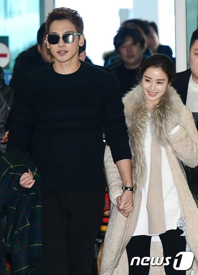 Nhìn hình ảnh gần đây nhất mới thấy, Bi Rain có một thói quen 2 năm không đổi đặc biệt dành cho bà xã Kim Tae Hee - ảnh 5