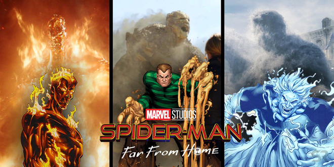 Gặp gỡ 4 kẻ thù truyền kiếp của nhện nhí Tom Holland trong FAR FROM HOME: Người cuối cùng sẽ gây sốc! - Ảnh 1.