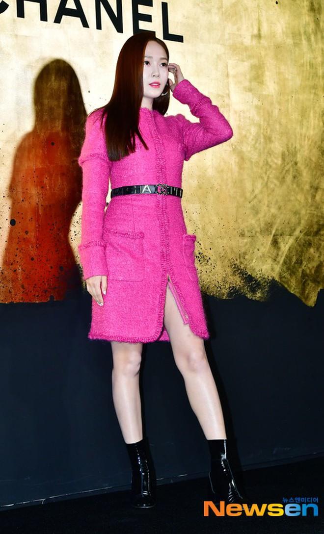 Sự kiện Chanel tại Seoul: Kristen Stewart xuất hiện với diện mạo dọa ma, chị em nhà Jessica - Krystal xuống sắc - ảnh 3