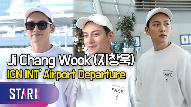 Nhìn Ji Chang Wook tại sân bay thế này, chắc thánh mặt mộc Suzy hay Song Joong Ki cũng phải chào thua mất thôi! - Ảnh 5.