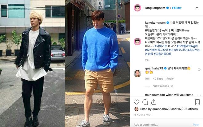 Thêm trường hợp sao Hàn tăng cân gây sốc: Lên 18kg trong 6 tháng, cô bạn gái bị réo gọi vì vỗ béo bạn trai quá tốt - Ảnh 1.