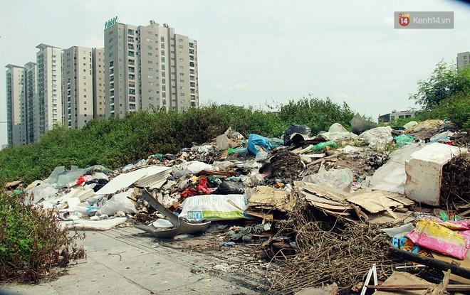 Chùm ảnh: Vừa hoạt động 3 tháng, con đường mang tên nhà tư sản Trịnh Văn Bô đã ngập ngụa rác thải - ảnh 8