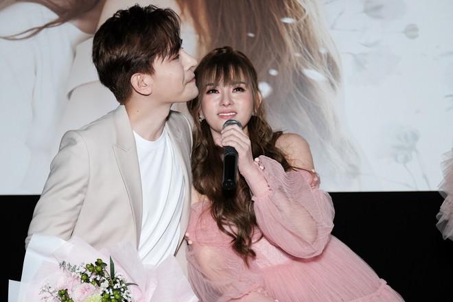 Thu Thủy xúc động khi nói về bạn trai mới trong buổi ra mắt MV - Ảnh 3.