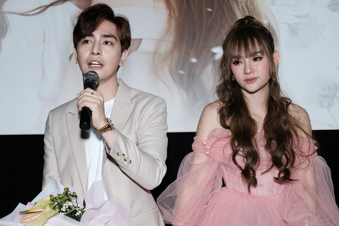Thu Thủy xúc động khi nói về bạn trai mới trong buổi ra mắt MV - Ảnh 1.