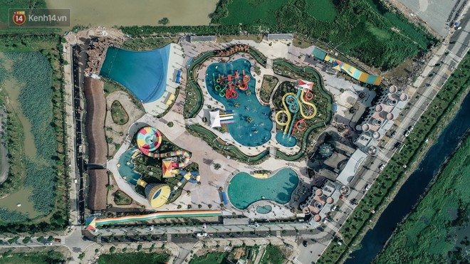 Review chi tiết công viên nước siêu to khổng lồ Thanh Hà: Trẻ em thích mê, người lớn có chút hụt hẫng - ảnh 1