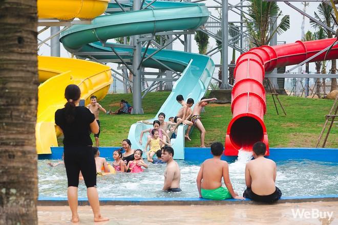 Review chi tiết công viên nước siêu to khổng lồ Thanh Hà: Trẻ em thích mê, người lớn có chút hụt hẫng - ảnh 13