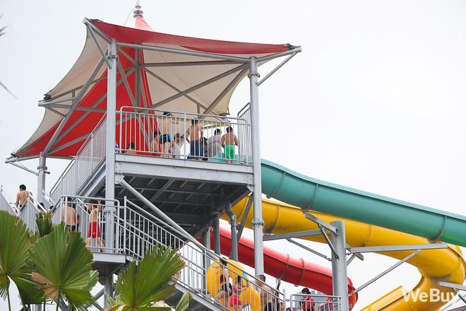 Review chi tiết công viên nước siêu to khổng lồ Thanh Hà: Trẻ em thích mê, người lớn có chút hụt hẫng - ảnh 8