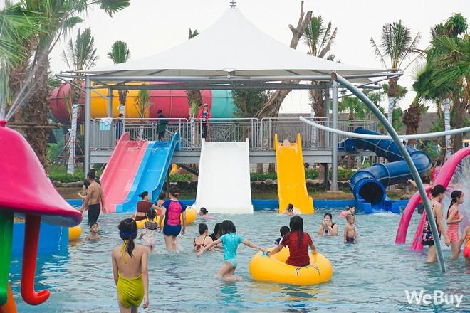 Review chi tiết công viên nước siêu to khổng lồ Thanh Hà: Trẻ em thích mê, người lớn có chút hụt hẫng - ảnh 12