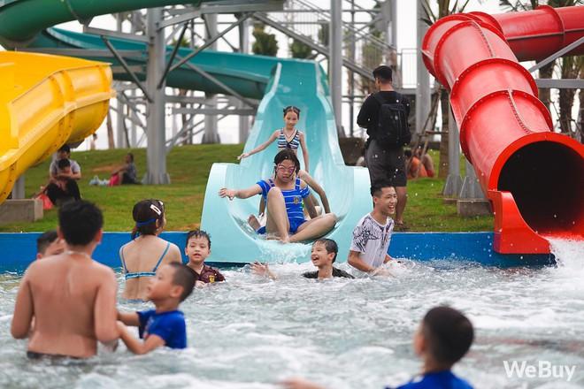 Review chi tiết công viên nước siêu to khổng lồ Thanh Hà: Trẻ em thích mê, người lớn có chút hụt hẫng - ảnh 19