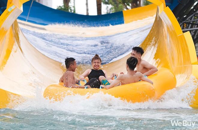 Review chi tiết công viên nước siêu to khổng lồ Thanh Hà: Trẻ em thích mê, người lớn có chút hụt hẫng - ảnh 11