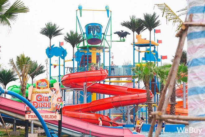 Review chi tiết công viên nước siêu to khổng lồ Thanh Hà: Trẻ em thích mê, người lớn có chút hụt hẫng - ảnh 10