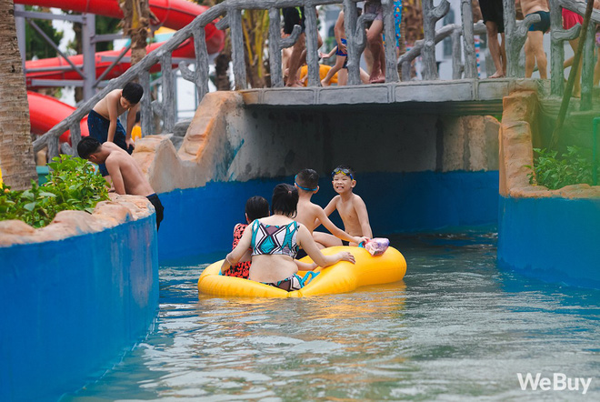 Review chi tiết công viên nước siêu to khổng lồ Thanh Hà: Trẻ em thích mê, người lớn có chút hụt hẫng - ảnh 15
