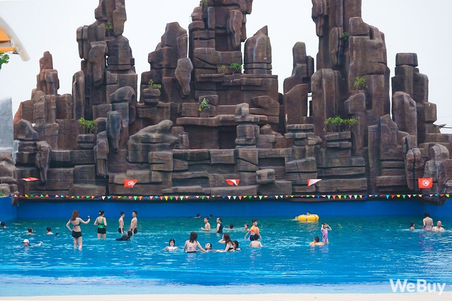 Review chi tiết công viên nước siêu to khổng lồ Thanh Hà: Trẻ em thích mê, người lớn có chút hụt hẫng - ảnh 16