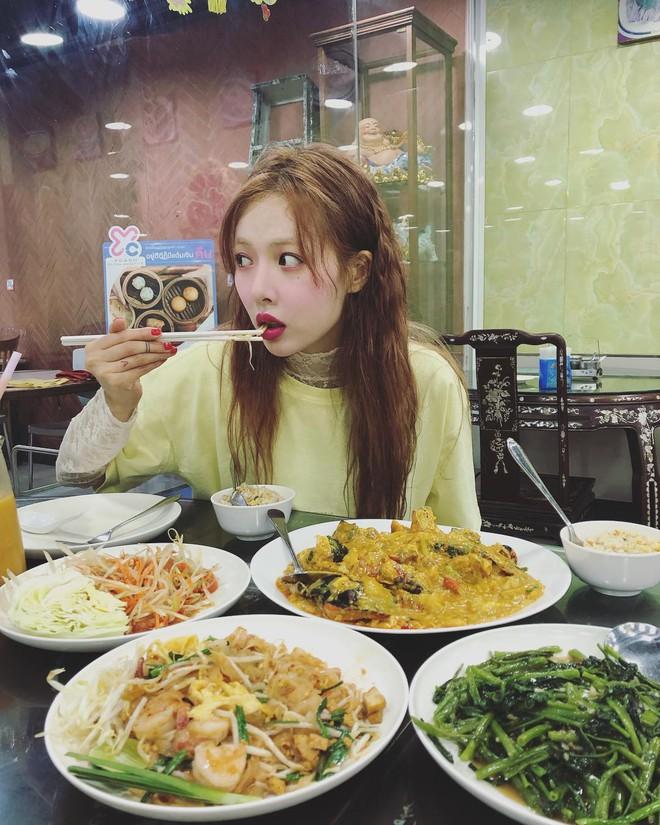 """4 bí quyết ăn uống """"tuy nhỏ mà có võ giúp HyunA duy trì body ai cũng mê - ảnh 5"""