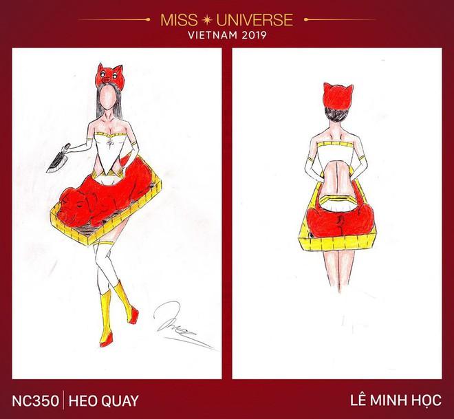 Choáng với loạt ý tưởng trang phục mới dành cho Hoàng Thùy: Từ ninja Lead, heo quay đến cây ATM - ảnh 1