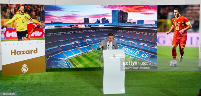 50.000 CĐV nô nức tới thánh địa Bernabeu để theo dõi màn ra mắt của siêu sao Eden Hazard - cầu thủ đắt giá nhất lịch sử Real Madrid - ảnh 12
