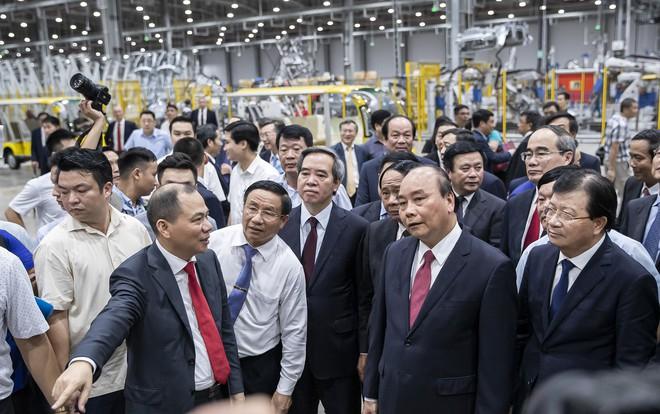 Clip kỳ tích 21 tháng của VinFast: Biến một vùng đầm lầy thành nhà máy sản xuất ô tô hàng đầu Đông Nam Á - ảnh 3