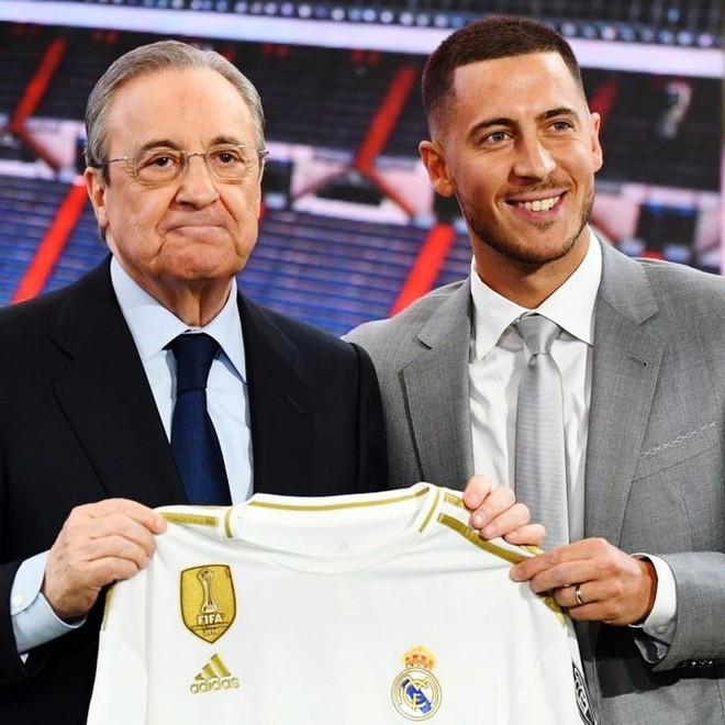 50.000 CĐV nô nức tới thánh địa Bernabeu để theo dõi màn ra mắt của siêu sao Eden Hazard - cầu thủ đắt giá nhất lịch sử Real Madrid - ảnh 11