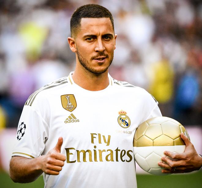 50.000 CĐV nô nức tới thánh địa Bernabeu để theo dõi màn ra mắt của siêu sao Eden Hazard - cầu thủ đắt giá nhất lịch sử Real Madrid - ảnh 2