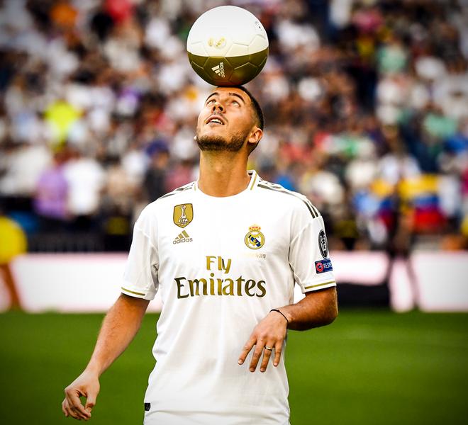 50.000 CĐV nô nức tới thánh địa Bernabeu để theo dõi màn ra mắt của siêu sao Eden Hazard - cầu thủ đắt giá nhất lịch sử Real Madrid - ảnh 4