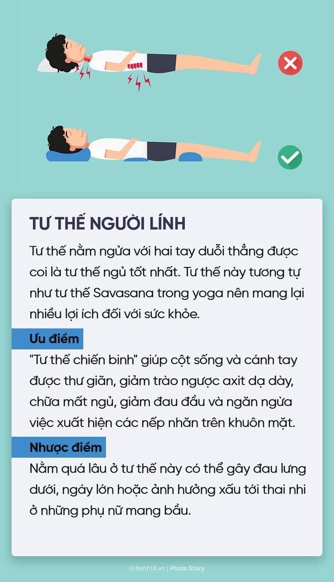 Điểm danh 6 tư thế ngủ quen thuộc để chọn riêng cho mình phương án phù hợp nhất - ảnh 6
