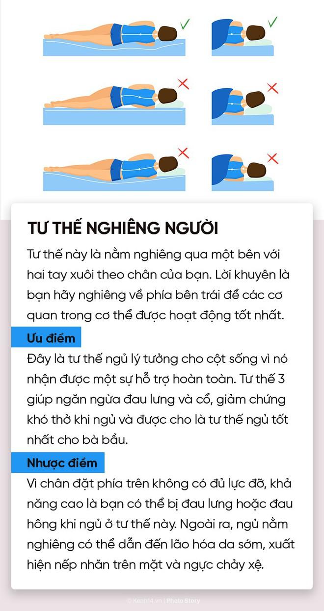 Điểm danh 6 tư thế ngủ quen thuộc để chọn riêng cho mình phương án phù hợp nhất - ảnh 5