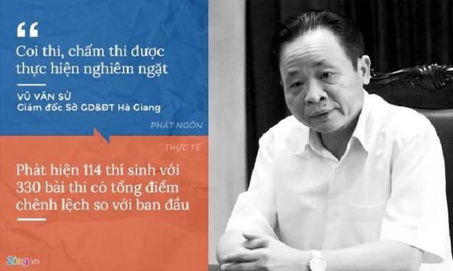 Cách hành xử của giám đốc Sở GD&ĐT Hà Giang, Sơn La giữa 'tâm bão' gian lận thi cử - ảnh 1
