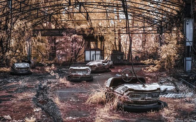 Từ vùng đất ma không ai dám bén mảng, nhà máy điện hạt nhân Chernobyl bỗng hóa xứ sở thần tiên đẹp lịm tim qua lăng kính của nhiếp ảnh gia - ảnh 29