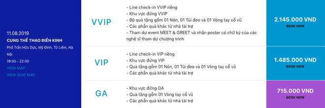 Sơn Tùng M-TP tiết lộ 3 điểm đến đầu tiên của Sky Tour 2019 cùng giá vé và loạt quà tặng hấp dẫn rồi đây! - ảnh 4