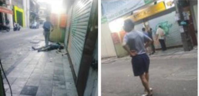 Hà Nội: Bàng hoàng phát hiện người đàn ông nước ngoài tử vong trước cửa nhà dân trong phố cổ - Ảnh 1.
