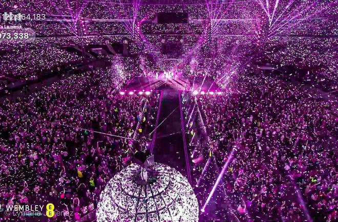 Rợn tóc gáy cảnh fan châu Âu đông như kiến thầu kín Quảng trường Piccadilly ở London để chờ BTS trước show lịch sử - Ảnh 12.