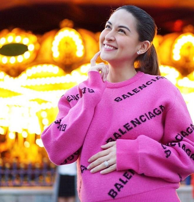 Nhan sắc gây choáng của mỹ nhân đẹp nhất Philippines từ khi mang thai đến sau sinh: Chưa bao giờ biết xấu là gì! - Ảnh 4.