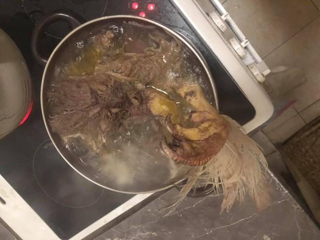 Chồng dặn nấu cháo gà nguyên con và thành quả của cô vợ đảm khiến dân mạng sốc toàn tập - ảnh 3