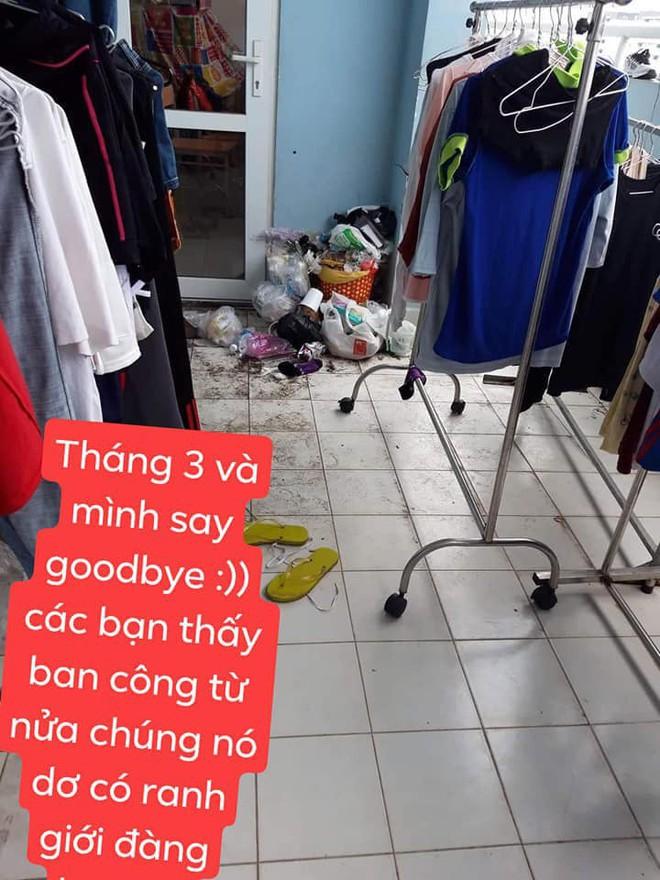 Nguyên phòng gái xinh ra đường nước hoa lồng lộn, về nhà thì rác chất đầy cửa khiến dân mạng ngán ngẩm - ảnh 4