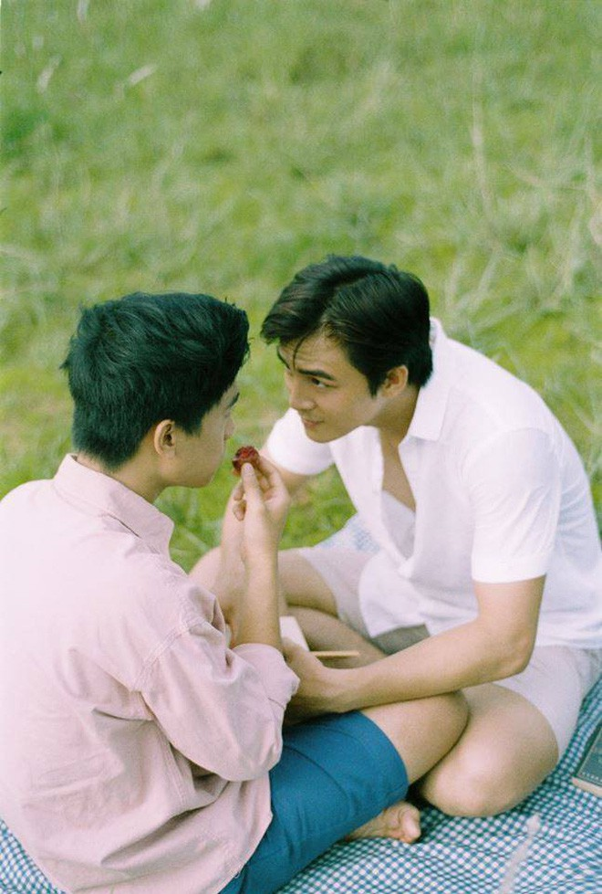 Chùm khoảnh khắc siêu cấp lãng mạn của 2 nam chính Thưa Mẹ Con Đi - đôi nam thần đam mỹ mới làng phim Việt - ảnh 9