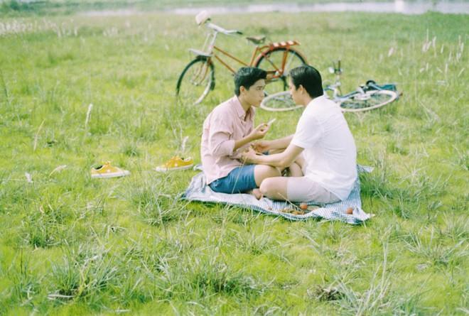 Chùm khoảnh khắc siêu cấp lãng mạn của 2 nam chính Thưa Mẹ Con Đi - đôi nam thần đam mỹ mới làng phim Việt - ảnh 12